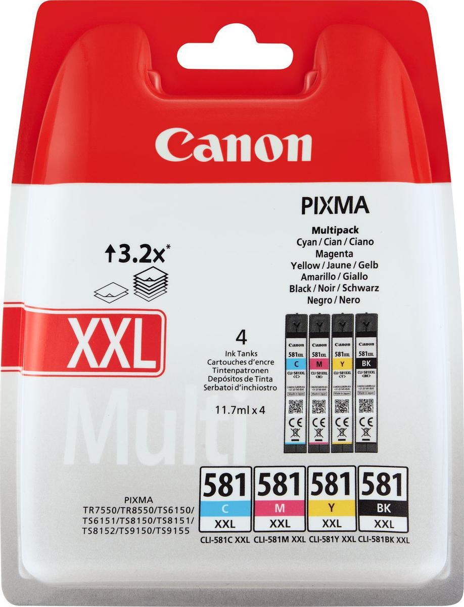 Canon Cli-581xxl Original Ink Cartridge Multipack