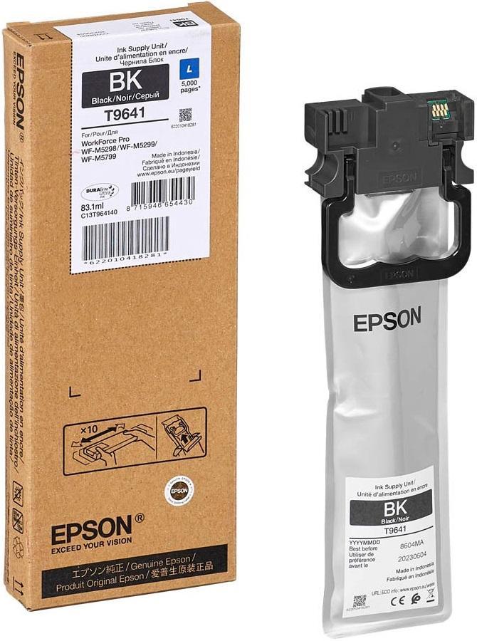 Epson T9641 Original Black Ink Cartridge