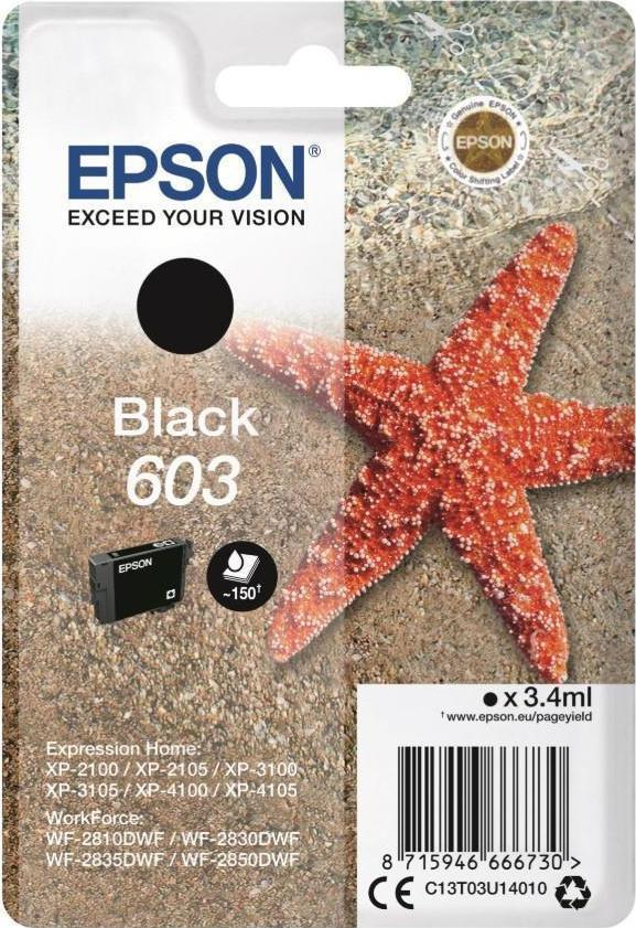 Epson 603 Original Black Ink Cartridge