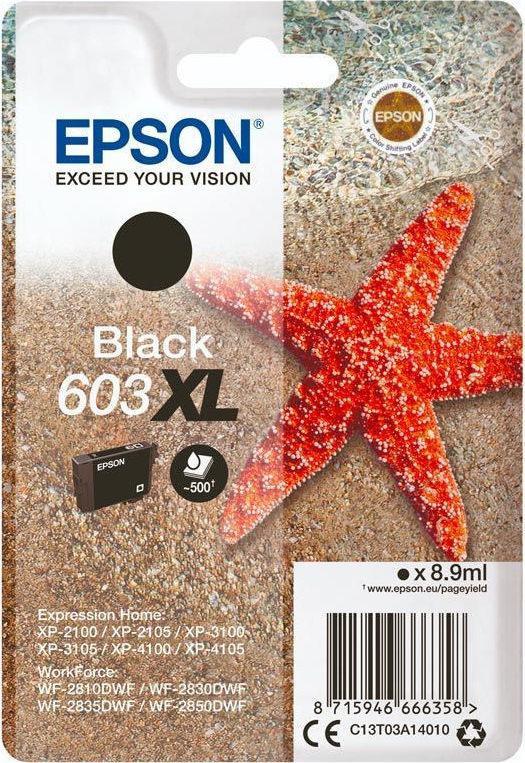 Epson 603xl Original Black Ink Cartridge