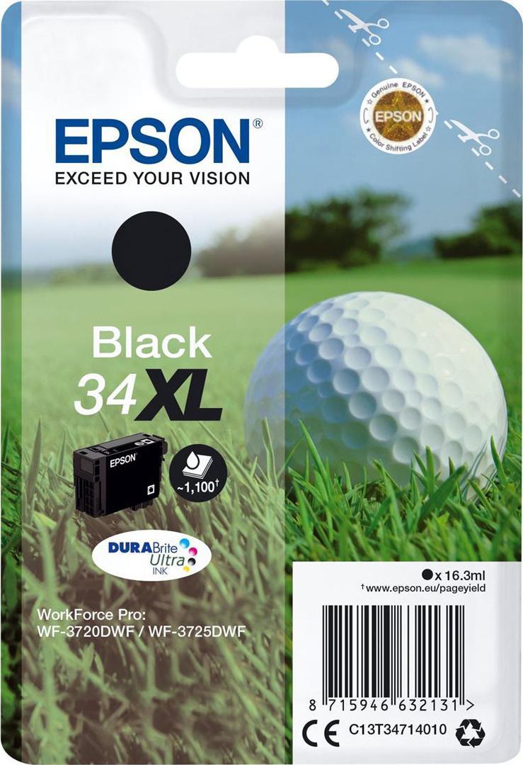 Epson 34xl Original Black Ink Cartridge