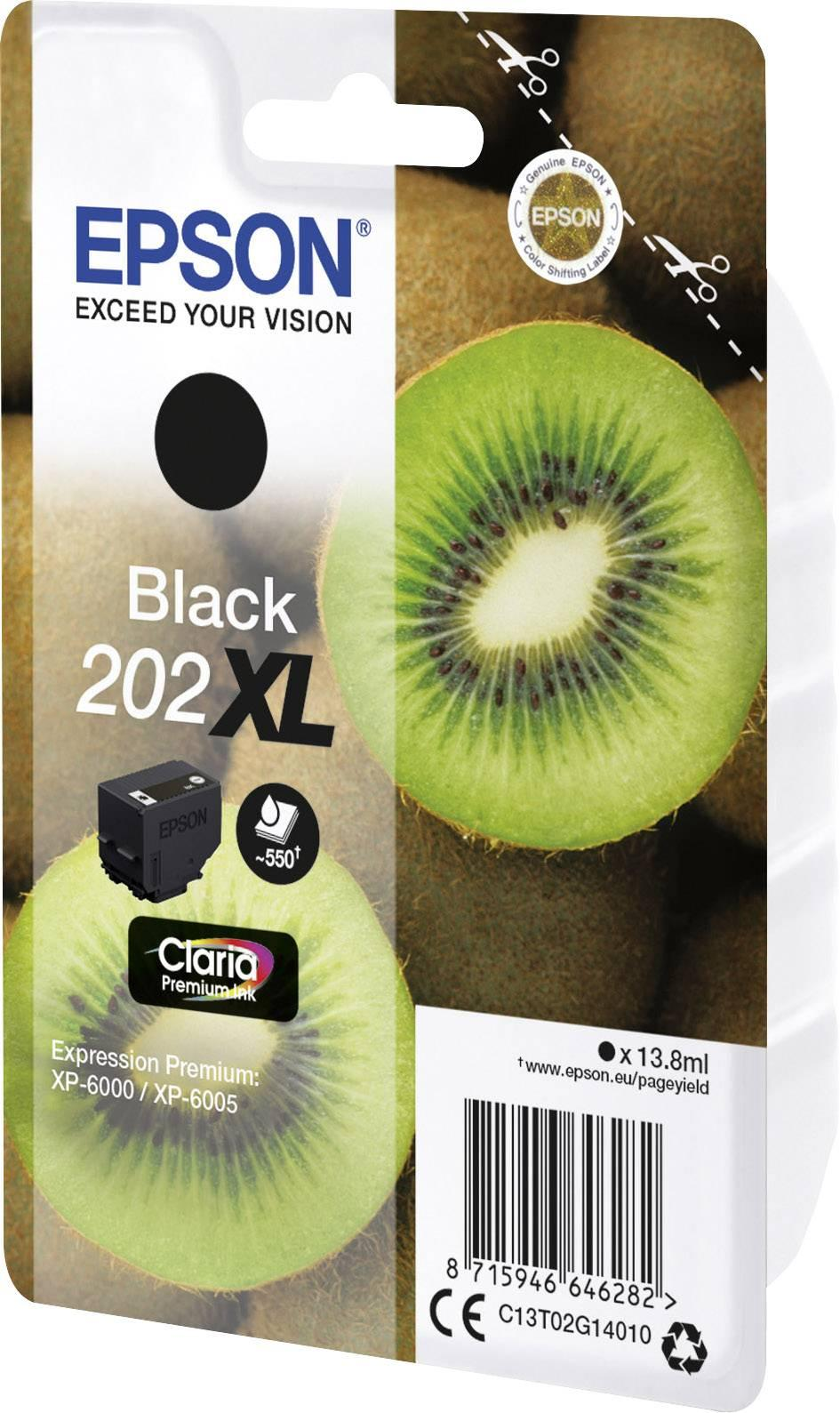 Epson 202xl Original Black Ink Cartridge