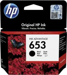 HP 653 Original Black Ink Cartridge