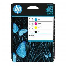 HP 912 Original 4 Colour Ink Cartridge Multipack