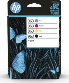 HP 963 Original 4-Colour Ink Cartridge Multipack