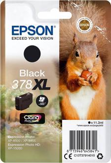 Epson 378XL Original Black Ink Cartridge