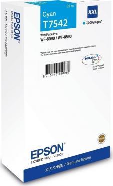 Epson T75424XXL Original Cyan Ink Cartridge