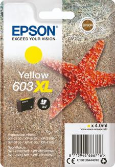 Epson 603XL Original Yellow Ink Cartridge