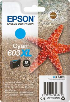 Epson 603XL Original Cyan Ink Cartridge