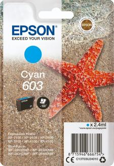 Epson 603 Original Cyan Ink Cartridge