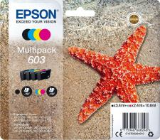 Epson 603 Original 4 Colour Ink Cartridge Multipack