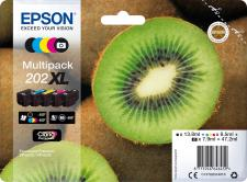 Epson 202XL Original 5 Color Ink Cartridge Multipack
